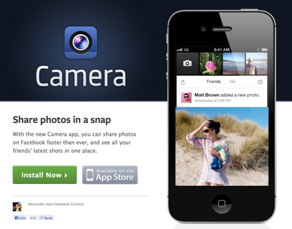 Tech.News: Facebook Camera App